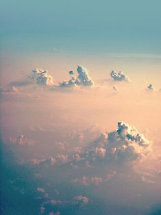 aah...Above the Clouds.