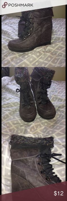 Selling this Ladies boots on Poshmark! My username is: brittlee8. #shopmycloset #poshmark #fashion #shopping #style #forsale #bb foxy #Shoes
