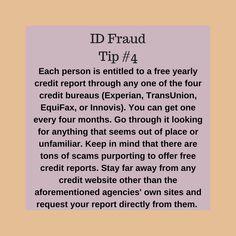 ID Fraud Tip 4
