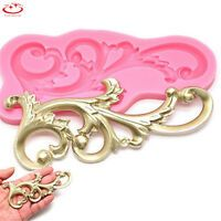 Cheap mould hand, Buy Quality mould decoration directly from China tool Suppliers: Cooking Tools Vintage Relief Flourish Silicone Cake Mold Sugarcraft Fondant Cake Decorating Tools Chocolate Mould Stencil Wilton Creative Cake Decorating, Cake Decorating With Fondant, Cake Decorating Tools, Fondant Molds, Cake Mold, Bolo Diy, Cake Borders, 3d Laser, Sugar Craft
