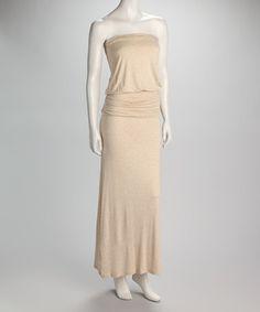 Adding straps to a strapless maxi dress