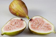 Cut fig fruit - a resemblance?
