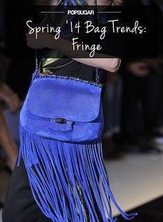 Spring '14 bag trends — fringe