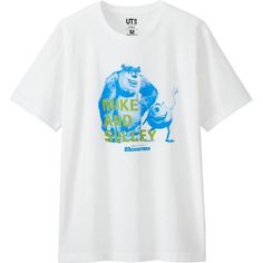 UNIQLO Men's Pixar Graphic Tee ($15) ❤ liked on Polyvore featuring men's fashion, men's clothing, men's shirts, men's t-shirts, mens t shirts and mens graphic t shirts