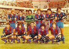 Equipos de fútbol: BARCELONA contra Estrella Roja 28/08/1982