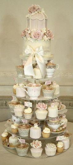 34 mejores imágenes de cupcakes boda   bizcochos de boda, dulces y