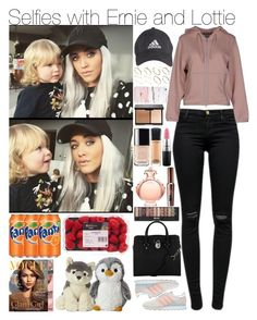 """""""Selfies with Ernie and Lottie"""" by mrspayne-1d ❤ liked on Polyvore featuring J Brand, adidas, ASOS, adidas Originals, Michael Kors, Paco Rabanne, Chanel, MAC Cosmetics, Benefit and women's clothing"""