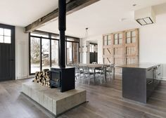 Old ambulance station converted into holiday home by Marta Nowicka & Co.