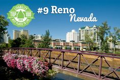 Congrats Reno, Nevada! Ranked #9 on Livability.com's Top 100 Best Places to Live