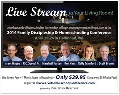 $5 Off Coupon Code for the 2014 Family Discipleship & Homeschooling Conference
