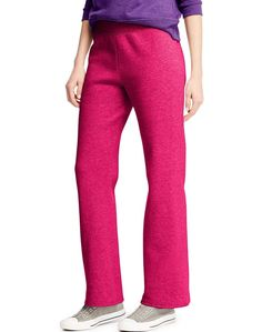 Hanes Women's Fleece Sweatpants Available in Regular and Petite, Size: XL, Pink Fleece Pants, Your Style, Pajama Pants, Women's Pants, Sweat Pants, Casual Outfits, Pants For Women, Legs, Cotton