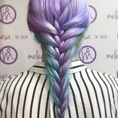 Mermaid braid.