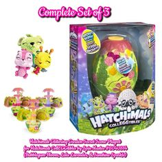 Crystal Canyon Secret Scene Playset With Exclusive Hat Electronic, Battery & Wind-up Hatchimals Colleggtibles Electronic & Interactive