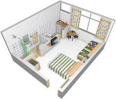 Studio Apartment Layout Plans 344 sq. ft. hyatt hotel suite layout that would work for a studio