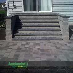 patio stairs - Google Search More