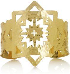 ShopStyle: Pamela Love Cutout bronze cuff