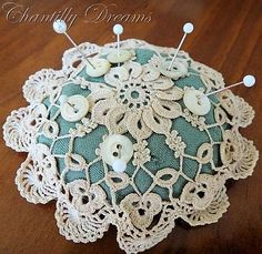 Doily Pincushion
