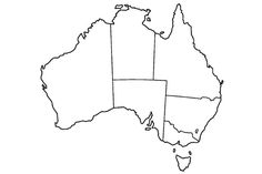 Looking for a Printable Blank Australia Map. We have Printable Blank Australia Map and the other about Printable Diagram it free. Printable Maps, Free Printable Coloring Pages, Free Printables, Australia For Kids, Australia Map, Australia Crafts, Australia Funny, Western Australia, Possum Magic