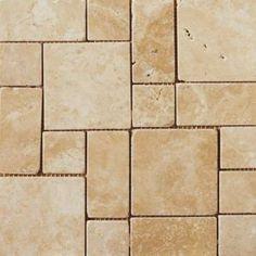 Like for kitchen backsplash  Emser Coliseum 13 in. x 13 in. Ephesus Porcelain Mosaic Tile