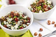 More Power Edamame Hazelnut Buckwheat Salad