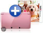 Nintendo 3DS - Koraal Roze + Nintendogs & Cats: Golden Retriever