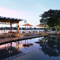 Riva Surya Bangkok—Bangkok, Thailand. #Jetsetter