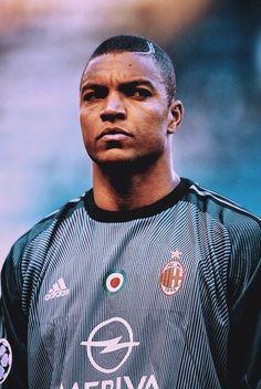 Football Icon, Football Players, Milan Wallpaper, Ac Milan, Goalkeeper, Retro, Superstar, Brazil, Soccer