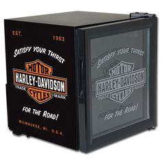 Harley-Davidson® B Beverage Cooler (Mini Fridge)