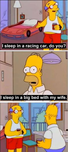 contrary to popular belief, homer might just be a genius