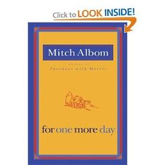 Another GREAT book by Mitch Albom