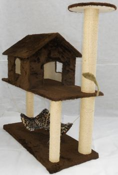Aging Cats' Nutritional Needs Change After Age 11 Diy Cat Tree, Cat Tree Condo, Cat Condo, Cat Tree Plans, Cat Gym, Cat Perch, Cat Towers, Cat Scratching Post, Cat Accessories