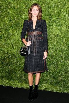 Alexa Chung wore Chanel - Chanel Fine Jewellery dinner, New York – September 6 2016
