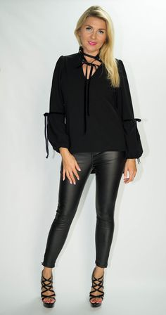 Confident Woman, Photo Sessions, Leggings Are Not Pants, Leather Pants, Trousers, Skinny, My Style, How To Wear, Outfits