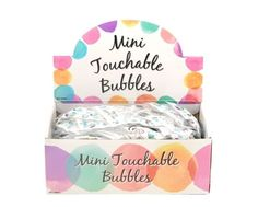 MINI TOUCHABLE BUBBLES HEARTS PARTY BAG WEDDING FAVOURS GIFT TABLE DECORATION | eBay