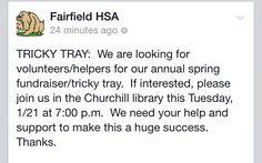Fairfield Home and School Association #fairfieldhsa
