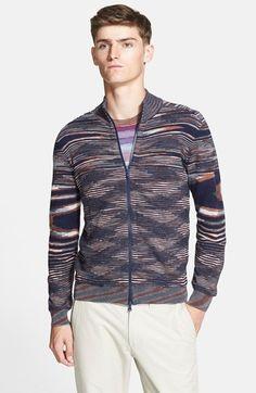 Men's Missoni Full Zip Sweater