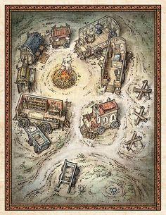 Tinker's caravan?