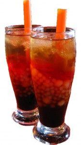 Sago at Gulaman Drink (Filipino tapioca pearl drink)