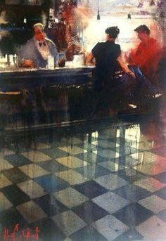 Alvaro Castagnet, Gerona cafe