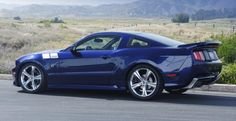 Steve Saleen and his company SMS Supercars have released the new 302 Ford Mustang to the Signature Series line after the success of the 570 Challenger. 2006 Mustang Gt, Ford Mustang Saleen, Mustang Cars, Cool Sports Cars, Cool Cars, Custom Muscle Cars, Classy Cars, Car Tuning, Drag Cars