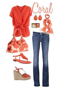 look couro coral - Pesquisa Google