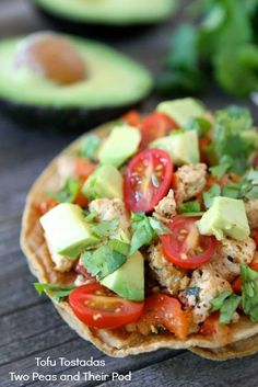 Tofu Tostadas | Two Peas and Their Pod (www.twopeasandtheirpod.com) #recipe #vegan