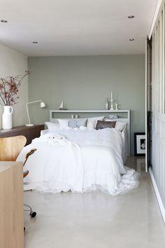 Slaapkamer on pinterest headboards interior modern and met - Moderne deco volwassen kamer ...