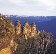 Blue Mountains , Australia, Three Sisters. Lived down the mountain from this for 6 months. Would go back in a heartbeat!
