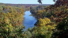 Shoal Creek in Joplin Missouri.  autumn view taken by ME.