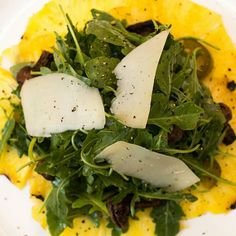 Throwback to when we had the Grilled Pineapple Carpaccio on the menu Pickled Mushrooms Arugula Petite Basque Cheese @caneandtable #pineapple salad #pineapple #arugula #arugula salad #nola #nolafood #neworleans #foodporn #frenchquarter #noladining #foodstagram #foodpics #foodgasm #picoftheday by jason_klutts