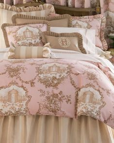 Pink and brown bedding on pinterest brown bedding pink brown and