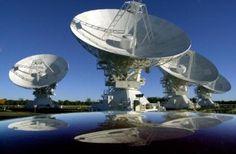 CSIRO Australia Telescope- the most powerful radio telescope array in the Southern Hemisphere, Narrabri