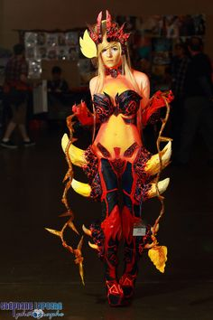Cosplay Hotties — From : League Of Legend Champ : Wildfire Zyra