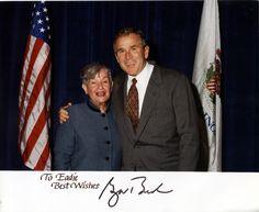 Eadie and George W Bush
